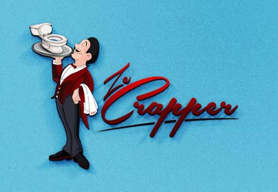 #31 untuk Design a Logo for Ze Crapper oleh HDiangca