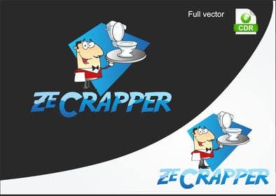 #14 untuk Design a Logo for Ze Crapper oleh petariliev