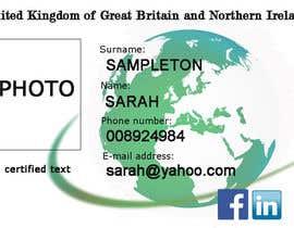#2 untuk Passport Design oleh pandorasher