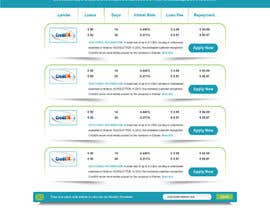 #14 para Create a Layout/Design for PayDay Loan Comparison Website por gravitygraphics7