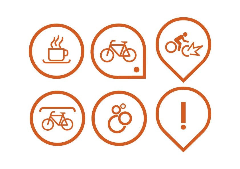Penyertaan Peraduan #48 untuk Design some safety icons for a map on our website