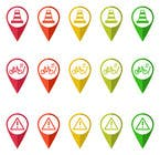 Graphic Design Entri Peraduan #24 for Design some safety icons for a map on our website