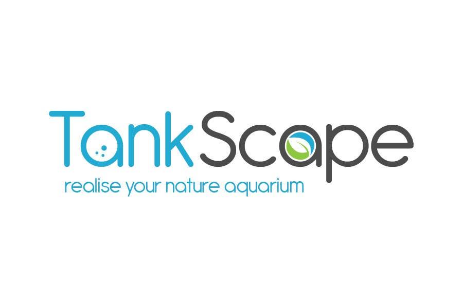 #47 for Logo design for Tankscape (Nature Aquarium Store) by Rushiad