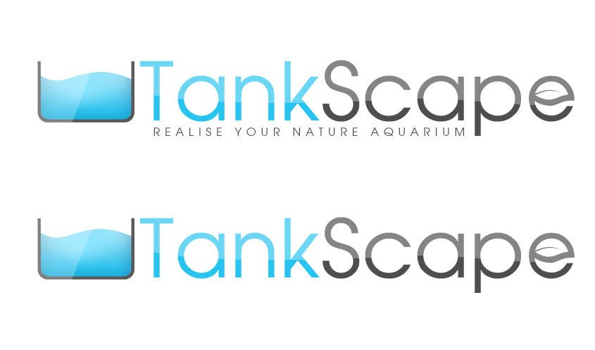 #64 for Logo design for Tankscape (Nature Aquarium Store) by SheryVejdani