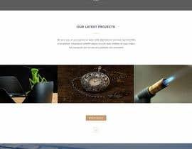 lucymacro tarafından Design a Website Mockup için no 6