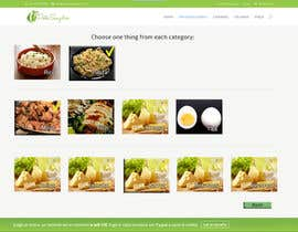 #2 untuk Design order page for food delivery website oleh iserednia