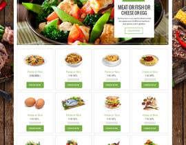#13 untuk Design order page for food delivery website oleh syrwebdevelopmen