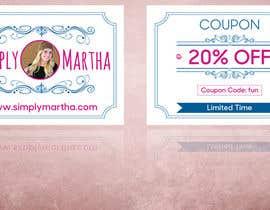 #33 untuk Design a 20% OFF coupon oleh gkhaus