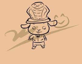 #2 untuk Rabbit wearing Snake- Hat oleh Pcat007