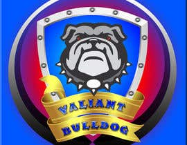 #74 for Valiant Bulldog Logo Design by new1ABHIK1