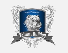 jaywdesign tarafından Valiant Bulldog Logo Design için no 12