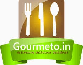 #13 untuk Design a Logo for my website: Gourmeto.in oleh glinksofts