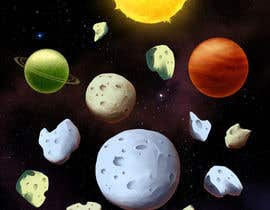 roland211 tarafından Looking for an artist to design a deep space game background and some planets. için no 23
