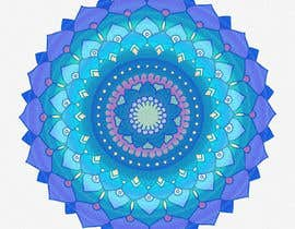 #17 untuk Illustrate a design for a mandala beach towel. oleh chanelleurie