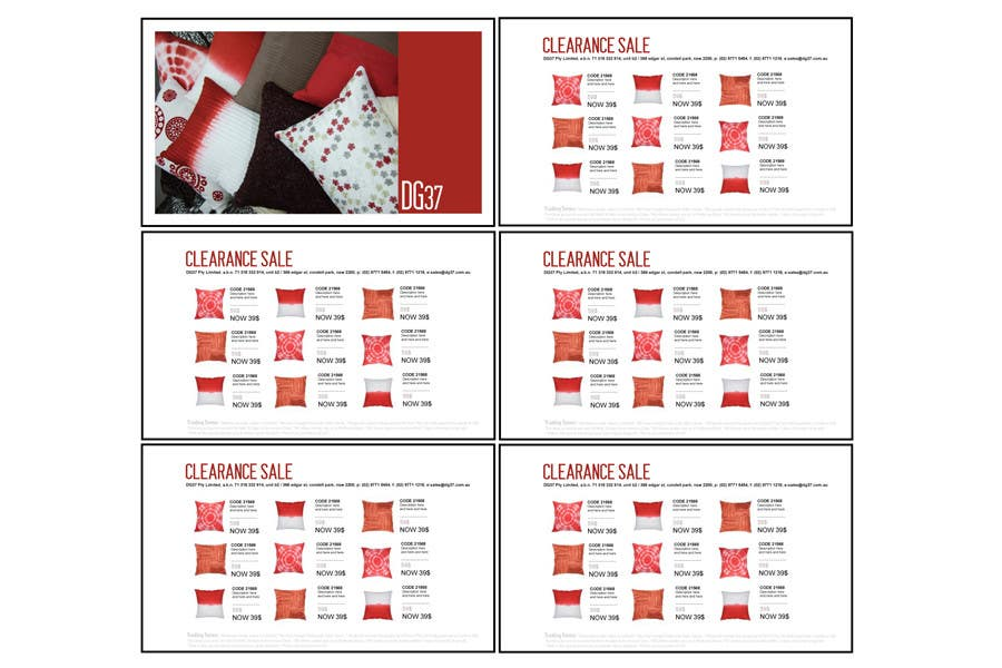 Konkurrenceindlæg #14 for Brochure Design for DG37