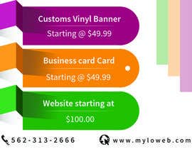 #7 untuk Design a Banner 4 ft x 6 ft oleh Creativeapes1