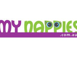 #7 para Logo Design for My Nappies por auchair