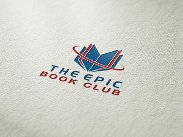#77 untuk Design a book-themed logo! oleh sdartdesign