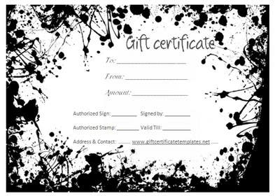 bouchtiba23 tarafından design printable gift voucher for beauty salon için no 5