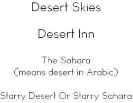 yasmineossama tarafından Company Name  Ideas for Desert Camp için no 237