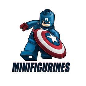 Nihadricci tarafından Create New logo for www.minifigurines.fr için no 43