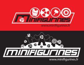 #23 untuk Create New logo for www.minifigurines.fr oleh emorej