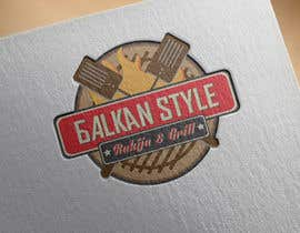 #5 for BALKAN STYLE / Rakija & Grill : Logo design by KonstantinosArg