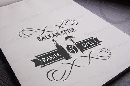 tanzeelrahman tarafından BALKAN STYLE / Rakija & Grill : Logo design için no 14