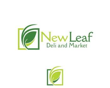 #65 untuk Design a Logo for New Leaf Deli and Market -- 2 oleh Dezzy01
