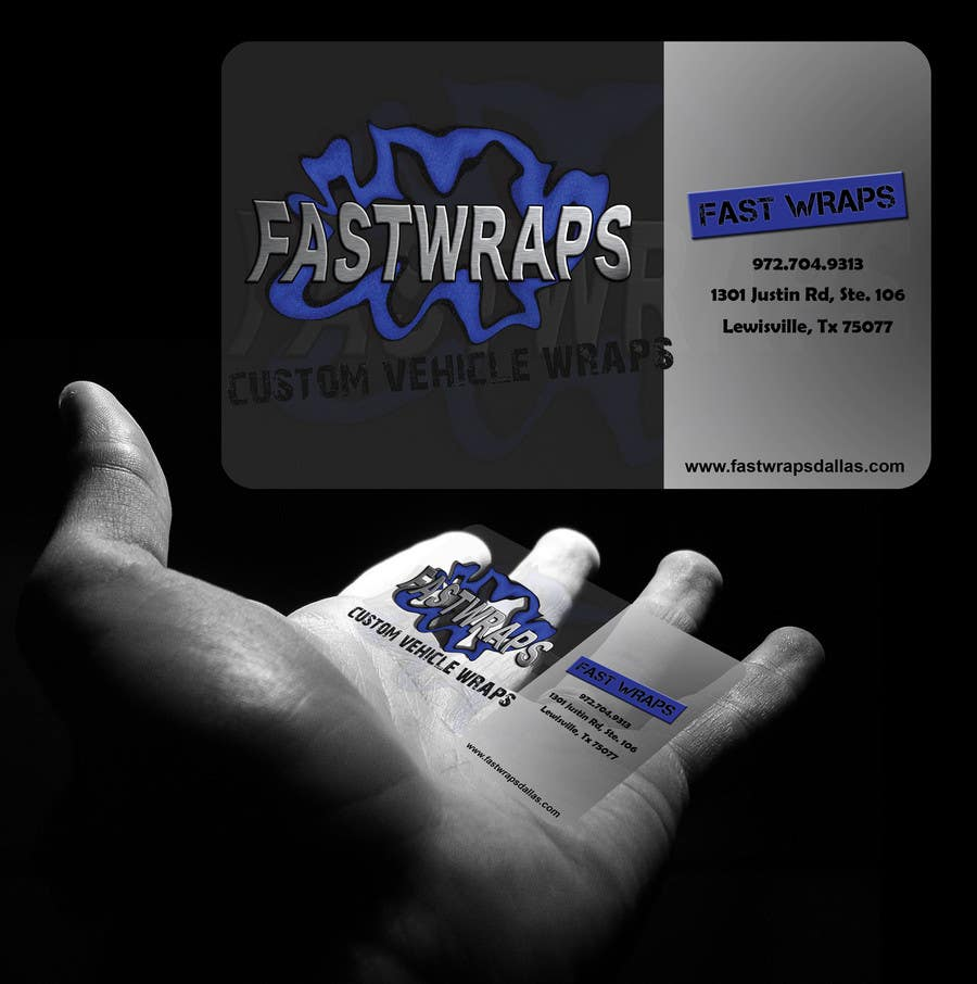 #40 for Design some Business Cards for Car Wrap Business by bunakiddz