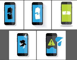 #10 for deliver 3 vector images (mobile phone) by AndyZo