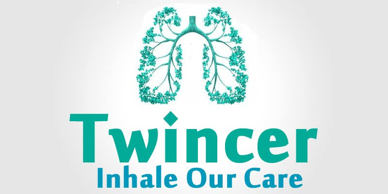 #35 for Design a logo for Twincer device by AboAlimk