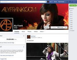 LeslieDesign tarafından Design a Facebook page for artist/musician! için no 31