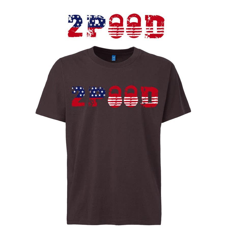 Penyertaan Peraduan #24 untuk Design a Logo for new 2POOD t shirt
