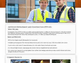 #12 para Build a Website for Antwood Construction por surendartech