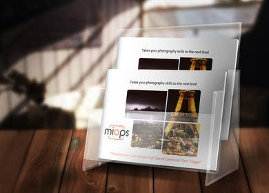 #5 untuk Design a Brochure for a Camera Trigger oleh LeeniDesigns