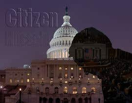 "#13 untuk Design a movie poster for ""Citizen Hussein"" oleh Bogomygkov"