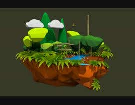 #22 untuk Create a 4 second 3D/4D floating island animation oleh Leandrocm3