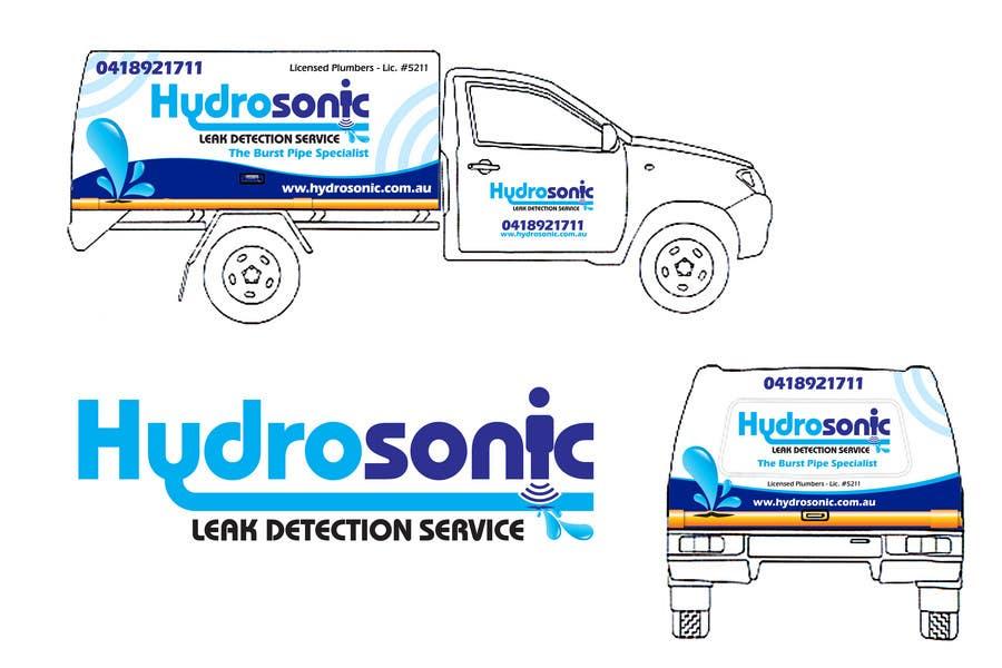 Konkurrenceindlæg #132 for Graphic Design for Hydrosonic Leak Detection Service