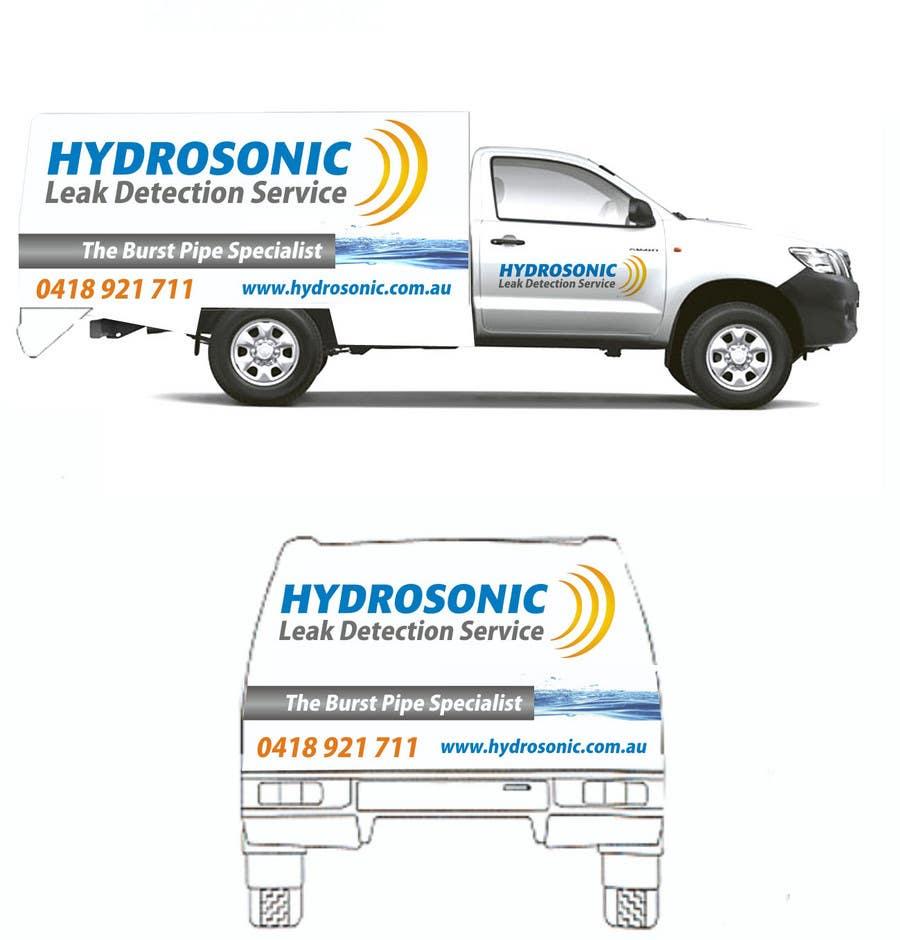 Konkurrenceindlæg #118 for Graphic Design for Hydrosonic Leak Detection Service