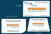 Graphic Design for Hydrosonic Leak Detection Service için Graphic Design119 No.lu Yarışma Girdisi