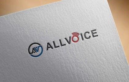 rz100 tarafından Logo Design for AllVoice için no 57