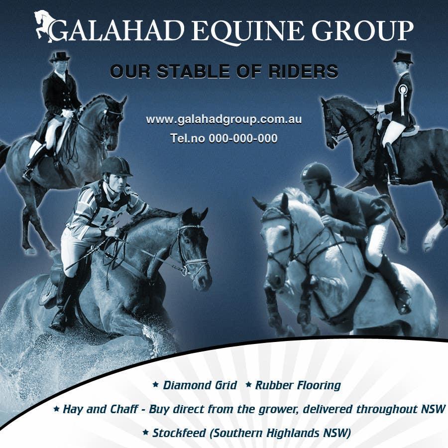 Participación en el concurso Nro.                                        24                                      para                                         Graphic Design for Galahad Equine Group Pty Ltd