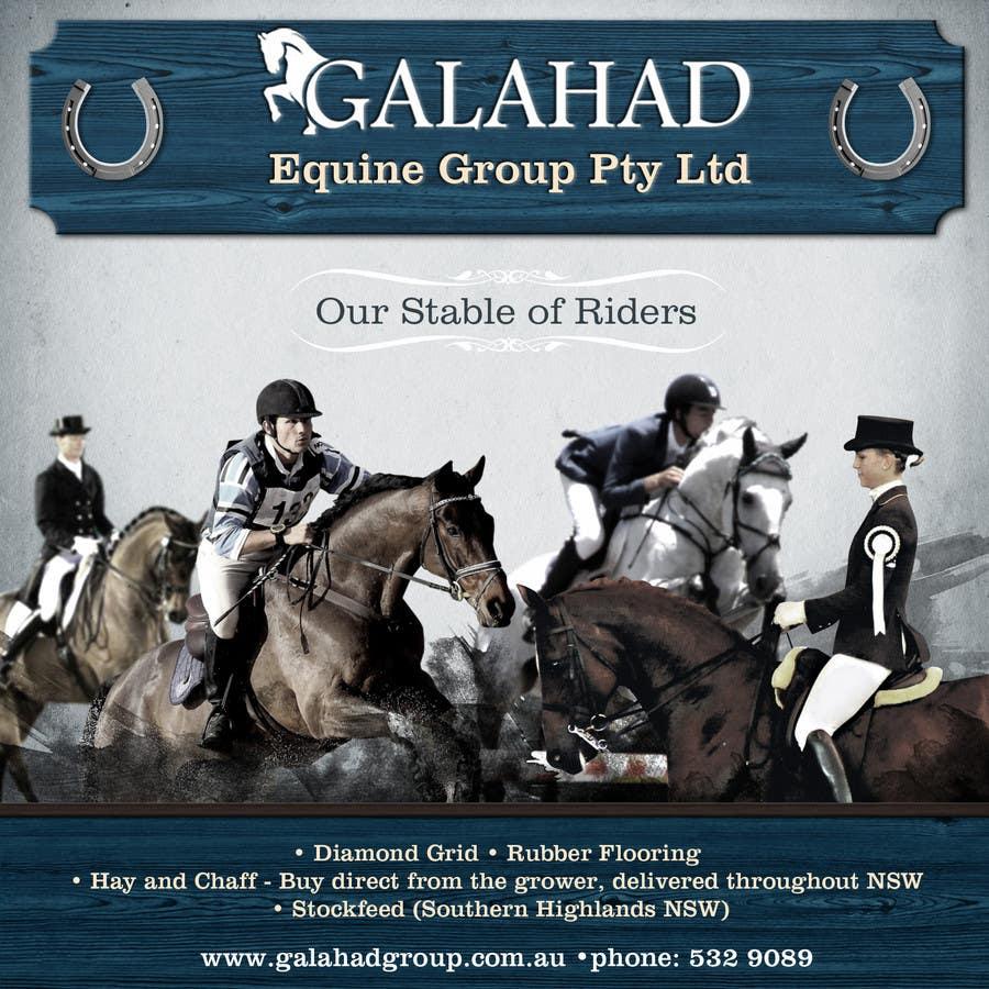 Inscrição nº                                         33                                      do Concurso para                                         Graphic Design for Galahad Equine Group Pty Ltd