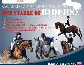 #34 untuk Graphic Design for Galahad Equine Group Pty Ltd oleh vennqi