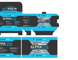 creatrixdesign tarafından Supplement Box Kit - AlphaOne için no 14