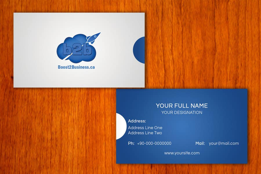 #2 for Corporate Image: Business Card, envelope, iPhone screen,etc. by amitpadal