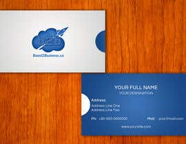 #2 para Corporate Image: Business Card, envelope, iPhone screen,etc. por amitpadal
