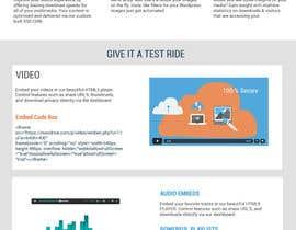 KnowledgeShine tarafından Design Homepage Layout For Cloud Storage App için no 36