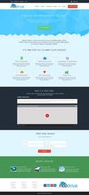 kreativeminds tarafından Design Homepage Layout For Cloud Storage App için no 46